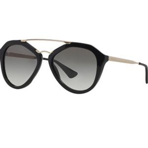 PRADA 12QS Sunglasses 1AB-0A7 - Gloss Black